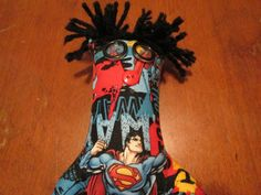 Superman Doll by tobeesgifts on Etsy, $15.95