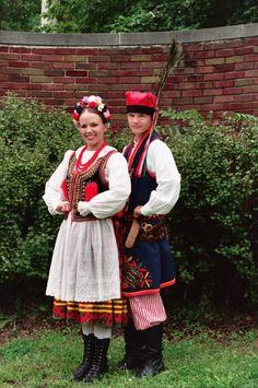 Traditional Polish Folk Costumes