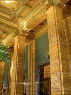 Art Deco lobby Southern California Edison