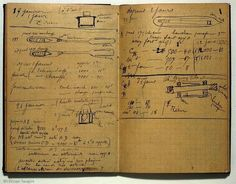 La libreta experimental de Marie #Curie, que luego de casi cien años todavía es radiactiva (Wellcome Library) pic.twitter.com/egUqCFc9SY
