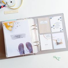 Project Life Spread by Maria Lacuesta | One Little Bird