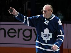 Leafs legend Johnny Bower has sadly passed away at the age of 93 Maple Leafs Hockey, Hockey Hall Of Fame, Edmonton Oilers, Toronto Maple Leafs, Latest Sports News, Passed Away, Hockey Players, Graphic Sweatshirt, Mens Tops