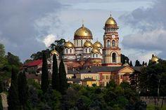 Saint Panteleimon Temple in New Athos, Abkhazia, Georgia