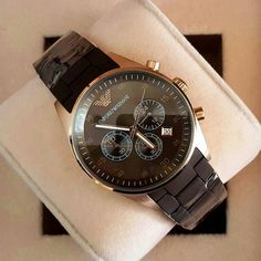 EMPORIO ARMANI wrking all chrono.only for 2200/-.dm for orders. by shopluxuryofficial