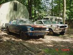 I want to turn these into his and hers mustangs. I wanttttt