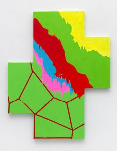 'positive negative by mary heilmann 2011