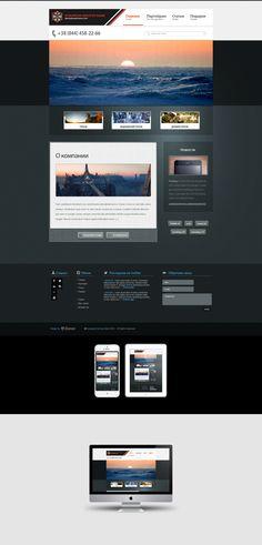 European Services Bank (Website Concept) by ~sashander on deviantART #webdesign