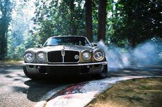 Project Purist: The Jaguar E-Type Built To Drift - Speedhunters Jaguar Xjc, Badass, Automobile, Jaguar Daimler, Xjr, Jaguar E Type, Jaguar Cars, Best Muscle Cars, Best Classic Cars