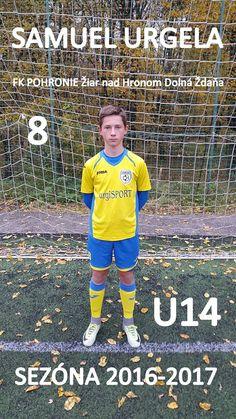 FK POHRONIE Žiar nad Hronom - 2016 / 2017 - Samuel Urgela ( U14)