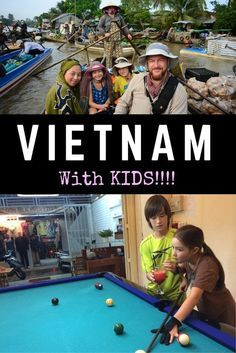 Here are the best tips for family travel in #vietnam with a baby, a toddler or a teen. #familytravel