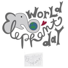 210/365 • World Elephant Day • Hand lettering 365 amandamcdesigns.com Hand lettered original design! Sketched with pencil and recreated in Illustrator exploring creativity, color, and design elements. © Amanda McIntosh. All rights reserved. #design #graphicdesign #graphicdesigner #typography #handlettering #handwriting #art #create #365 #project365 #artist #illustration #illustrator #amandamcdesigns #handdrawntype #lettering #marketing #worldelephantday #elephant #world