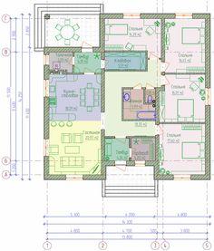 план одноэтажного дома - Поиск в Google