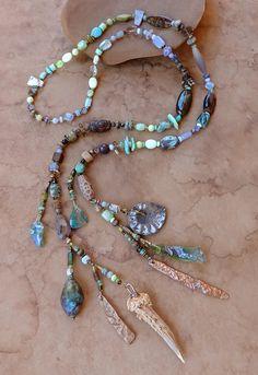 Spirit Beads Spring on the Mountain Prayer by DesertTalismans