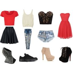 """Shoesone with """"teenage styles"""" by breelack on Polyvore"""