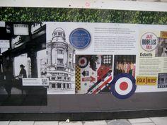Detail from the mosoho music panel Soho Sq Soho House, Folk, Blues, Detail, History, Music, Musica, Historia, Musik
