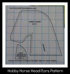 The Sugar Cube: Hobby Horse Pattern & Instructables Craft room,Sewing,Sewing Projects, Easy Hobbies, Hobbies For Couples, Hobbies To Try, Hobbies For Women, Hobbies That Make Money, Stick Horses, Horse Party, Horse Pattern, Hobby Horse