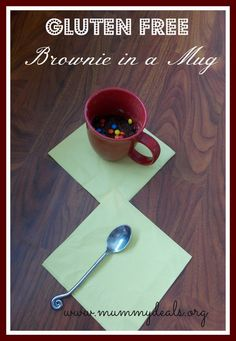 Gluten Free Brownie in a Mug