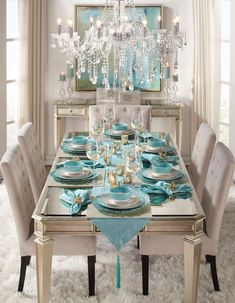 If you have a dining room, there's a good chance you don't use it very often. Most people would prefer to congregate around the kitchen table and the dining room is hardly ever used. Dining Room Table Decor, Dining Room Sets, Deco Table, Decoration Table, Dining Room Design, Living Room Decor, Dining Chairs, Kitchen Decorations, Christmas Decorations