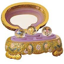 Disney Princess Ballet Snowglobe Jewelry Box