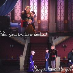 were anna and elsa parents abusive relationship