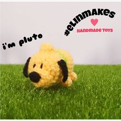 Tsum tsum like pluto for my biggest fan 😀 #amigurumi #crochet #elinmakes #handmadetoys #tsumtsum #tsumtsumdisney #pluto #disney #handmade #handmadegifts #cutegift
