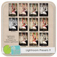 Lightroom Presets 9 by Sabrina Dupre