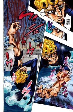 JoJo's Bizarre Adventure Part 5 - Vento Aureo [Official Colored] - Vol. 75 White Album Part 6 - MangaDex Free Comic Books, Jojo Bizzare Adventure, Jojo Bizarre, Manga To Read, Manga Art, Manhwa, Anime, Landing