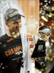 Thanks to Peyton Manning and Denver Broncos for a great season