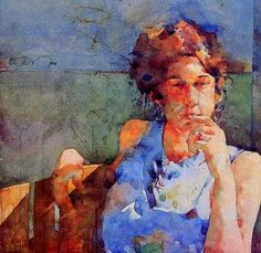 Ted Nuttall ~ Figurative Watercolour painter