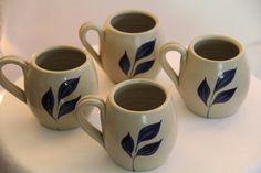Williamsburg Pottery  http://www.ebay.com/itm/Williamsburg-Pottery-Set-4-Mugs-/120893453205?pt=LH_DefaultDomain_0=item1c25cfb395#ht_500wt_1378