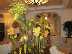 We stayed at The Montage Beverly Hills, where there are always exquisite floral arrangements in the lobby.  I loved this stunning feast for the eyes in brilliant yellow.
