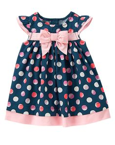 R+L's wedding: Polka Dot Dress at Gymboree Toddler Dress, Toddler Outfits, Baby Dress, Toddler Girl, Kids Outfits, Dot Dress, Baby Outfits, Little Dresses, Little Girl Dresses