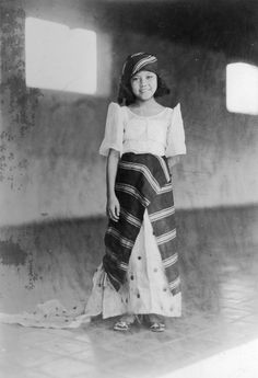 Girl posing in Manila ca1927