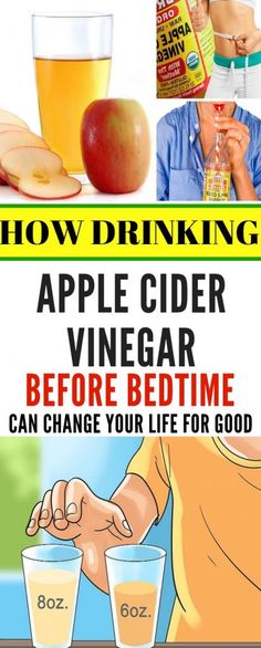 How Drinking Apple Cider Vinegar Before Bedtime Can Change Your Life For Good! How Drinking Apple Cider Vinegar Before Bedtime Can Change Your Life For Good! Natural Home Remedies, Herbal Remedies, Health Remedies, Healthy Tips, How To Stay Healthy, Healthy Habits, Healthy Eating, Healthy Drinks, Healthy Weight