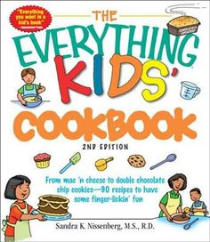 In this updated edition of THE EVERYTHING KIDS COOKBOOK (in ebook form; also available in print: j641.51 SELL), you'll find the basics about cooking, kitchen safety, and nutrition, along with a variety of recipes. Written by a certified dietician, this creative cookbook gives kids the know-how and tools they need to become young chefs in the making!