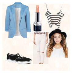 """""""Untitled #79"""" by trinity-taylor-1 ❤ liked on Polyvore featuring Topshop, Vans, Christian Dior and Wet Seal"""