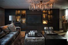 Living room : Moderne woonkamers van BB Interior