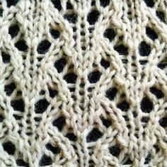 Wheat Lace Stitch - Purl Avenue