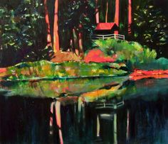 "Saatchi Art Artist Tanja Vetter; Painting, ""On the other side"" #art"