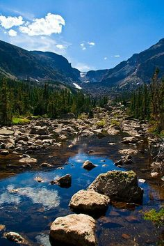 Presioso Rocky Mountain national park Colorado USA