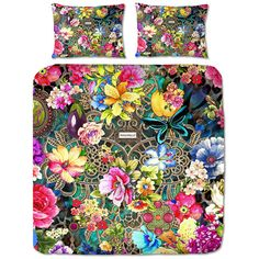 Melli Mello Rowena Duvet Set - King (£92) ❤ liked on Polyvore featuring home, bed & bath, bedding, duvet covers, multi, king pillow cases, king bed linens, king bedding, melli mello and king size duvet sets