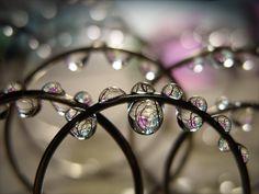Bracelets en perles ...de rosée.