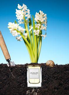 023 Still Life Product Photographer Dennis Pedersen Beauty Mugler Cosmetic Earth Smell Fragrance Advertising Editorial Creative