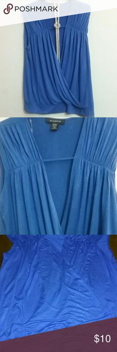 Ashley Stewart , Crossover Top , Size 18/20 Blue Crossover Top, fun date night or party top Ashley Stewart Tops Blouses