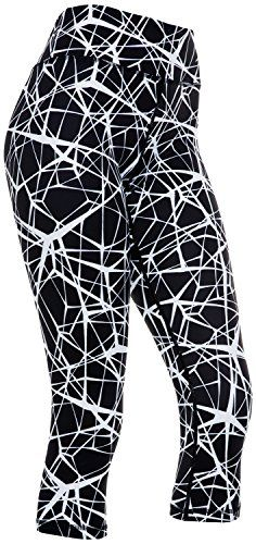 Womens Compression Capri Leggings - Tights for Running, Yoga, Working Out - High Waisted, Body Slimming Pants Capri Leggings, Women's Leggings, Amazon Clothes, Gym Pants, Yoga Capris, Running Tights, Outdoors, Boots, Fashion