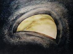 """Jacek Jaroszewski """"Numer Tysiąc """"- watercolour 2000 (1000)"""
