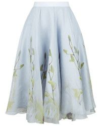 Ted Baker | Rahele Pearly Petals Midi Skirt |  Lyst