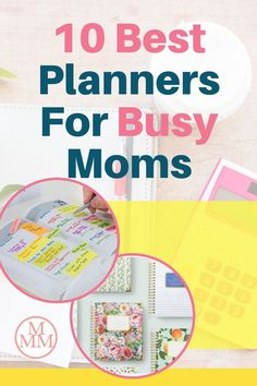 The best planners for moms to manage the household, appointments, to-do lists, projects, and family… If you need a little help getting organized, then you really need to consider using a planner. There are many to choose from including daily, weekly, and monthly planners. You can also pick a planner that encourages productivity, gets tasks done, and goal planners. There are even academic year planners perfect for teachers or homeschooling. Click over to see my top 10 best planners for busy… Best Weekly Planner, Goals Planner, Best Money Saving Tips, Saving Money, Money Tips, Mom Agenda, Best Planners For Moms, Thing 1, Project Planner