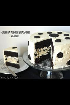 oreo dalmatian cake
