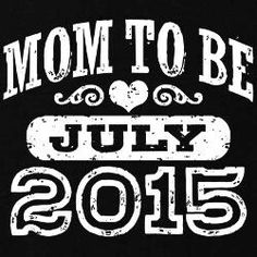 Baby Hughes due 19th July 2015 <3
